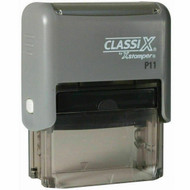 """P11 Self-Inking Message Stamp 1/2"""" x 1-1/2"""""""
