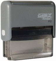 """P12 Self-Inking Message Stamp 5/8"""" x 2-5/16"""""""