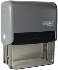 """P14 Self-Inking Message Stamp 1-1/2"""" x 3"""""""