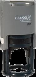 """P17 Self-Inking Round Stamp 1-1/8"""" Diameter"""