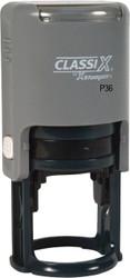 """P36 Self-Inking Round Date Stamp 1-1/2"""" Diameter"""