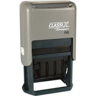 """P40 Self-Inking Date Stamp 15/16"""" x 1-9/16"""""""