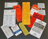 Weatherproof Tags, Waterproof Tags, Tyvek Tags, Durable Tags, Plastic Tags and More! Let us know how your tag will be used, what conditions it will be exposed to, and we will recommend an appropriate waterproof, weatherproof, and durable tag material. Remember, not all plastic tag materials are the same...we can help!  We know that there are many challenging tagging applications which require special tag materials. That's why we offer a wide variety of Plastic Tags, Synthetic Tags, Durable Tags, Weather Resistant Tags, and Waterproof Tags.  See additional photos for examples of Actual Custom Printed Weatherproof Tags we have made. So, if you don't see what you are looking for, don't worry, we can custom make just about any tag you need