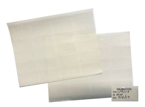 Clear Film for Self-Laminating Your Own Labels