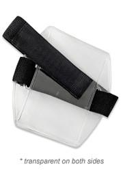 Armband Badge Holder w/ Black Elastic Velcro (Pack of 50) ($1.60 each)