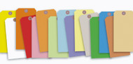 Blank 13 Pt. Colored Tags