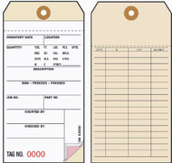 Inventory Tags - 3 Part Carbonless (Box of 500)