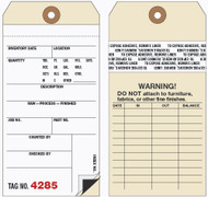 Inventory Tags - 2 Part Carbon Interleaf with Transfer Tape (Box of 500)