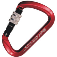 Kong 737 Big D Screw Gate Carabiner - Anodised