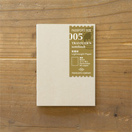 Traveler's Notebook - Journal Insert Refill 005 Lightweight Paper (Passport Size)