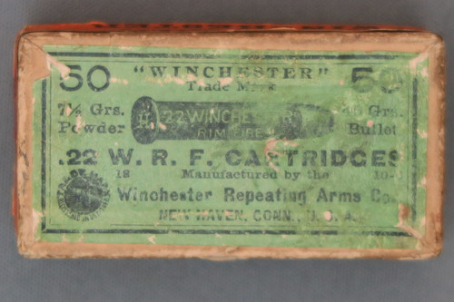 22 WRF Cartridges By Winchester Top