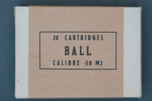 20 Cartridges Ball Calibre .30 M2