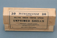 Winchester 30/40 Krag Super Speed Unprimed Shells