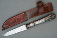 Silver Hilted Knife