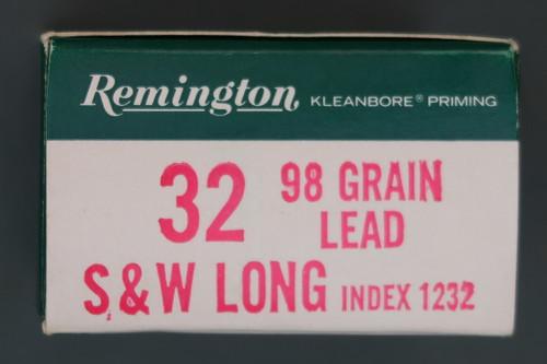 Remington 32 S&W Long Ammunition Right End