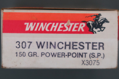 307 Winchester Ammunition Box End