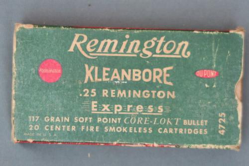 25 Remington Shooter Ammo Front