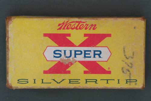 Western Super-X Silvertip 30 Remington Cartridges Front