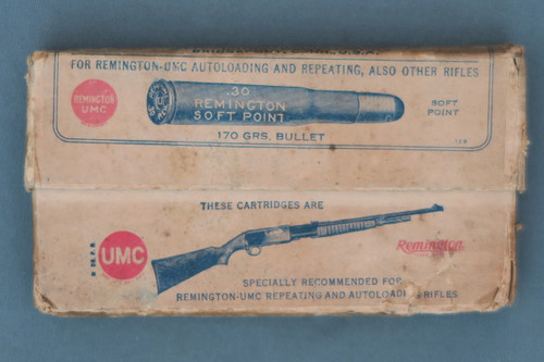 30 Remington Smokeless by Remington Arms Union Metallic Cartridge Co.  Front