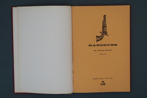 Handguns by Larry Koller, Title Page