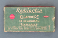 Remington 32 Remington Express Core-Lokt Ammunition Front