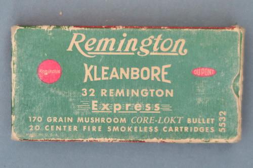 Remington 32 Remington Express Mushroom Core-Lokt Ammunition Front