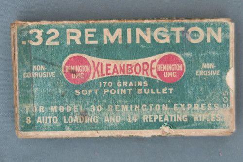 Remington 32 Remington Express Mushroom Core-Lokt Ammunition Front