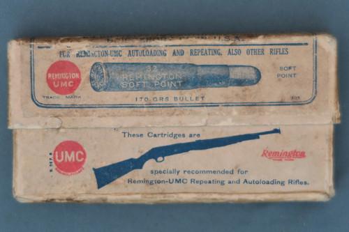 32 Remington Smokeless Cartridges by Remington Arms-Union Metallic Cartridge Co. Front