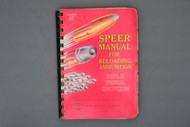 Speer Manual For Reloading Ammunition Rifle Pistol Shotgun Number 5