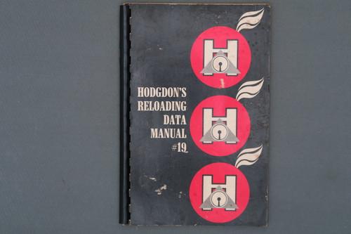 Hodgdon's Reloading Data Manual # 19