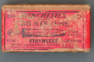 Winchester 25 Stevens Staynless Ammunition