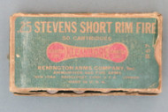 25 Stevens Short Rimfire by Remington Top