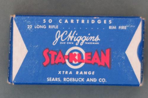 J. C. Higgins Sta-Klean Xtra Range 22 Long Rifle Ammunition Top
