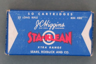 J. C. Higgins Sta-Klean Xtra Range 22 Long Rifle Ammunition Top