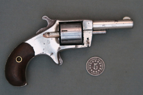 Bonanza Spur Trigger Revolver S# 4187 Right Side