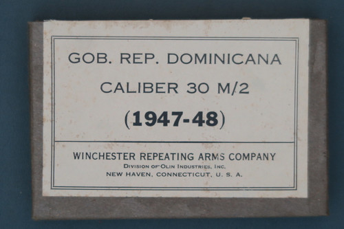Dominican Caliber 30 M/2 Ammunition
