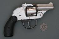 Iver Johnson First Model First Variation Hammerless Revolver S# 57330 Right Side