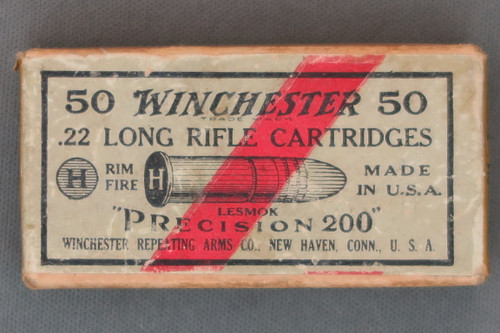 Winchester Precision 200 Long Rifle Cartridges, Top