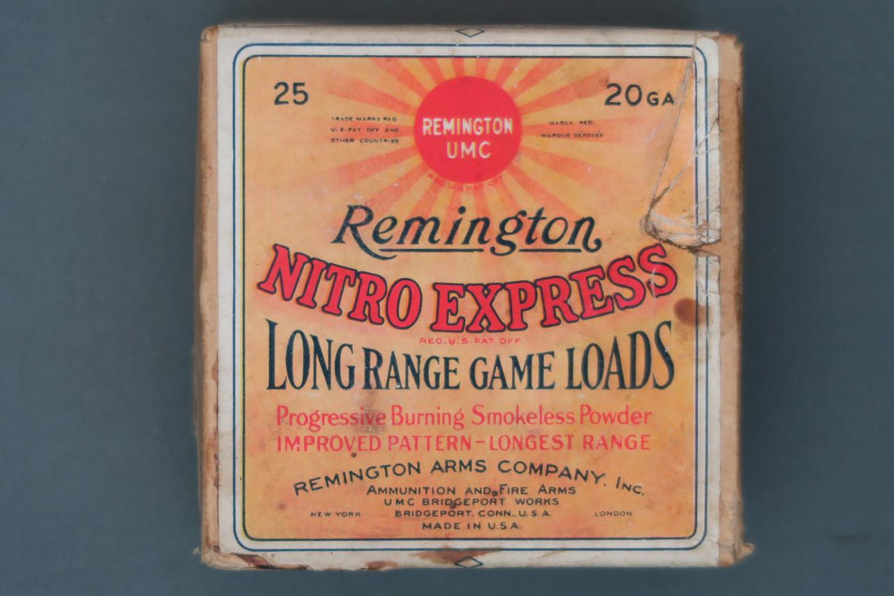 Remington 20 Gauge Nitro Express Long Range Game Loads No  4 Chilled Shot