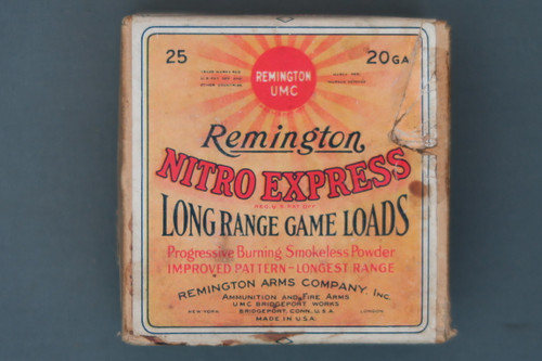 Remington 20 Gauge Nitro Express Long Range Game Loads No. 4 Top