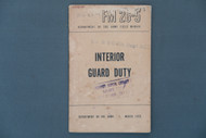 FM 26-5 Interior Guard Duty