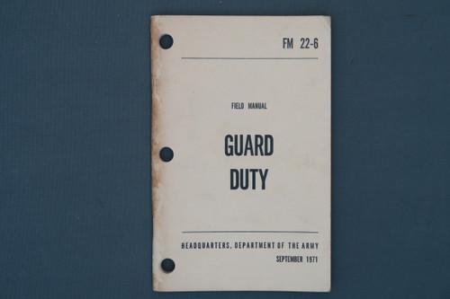 FM 22-6 Guard Duty