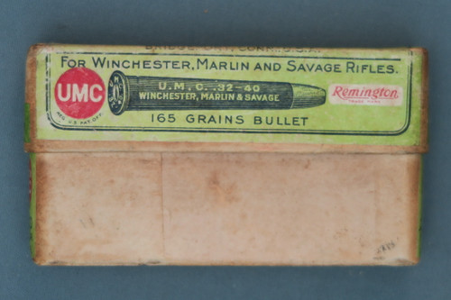 32-40 Central Fire Cartridges for Winchester, Marlin and Savage Rifles, Near Side