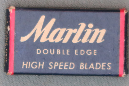Marlin Double Edge High Speed Blades, Top