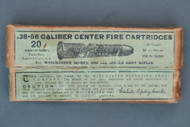 Winchester .38-56 Caliber, Center Fire Cartridges, Front