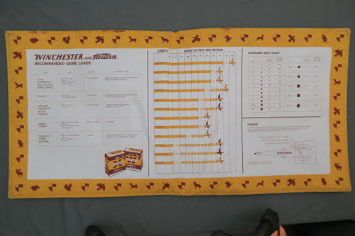 Winchester & Western Ammunition Counter Mat