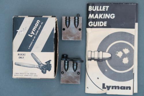 Lyman 311 359 Dual Cavity Bullet Mould