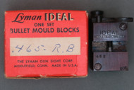 Lyman Ideal .465 Round Ball Mould Blocks