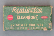 Remington 32 Short Rim Fire Ammunition, Front