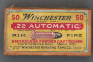 Winchester .22 Automatic Rim Fire Ammo, Top